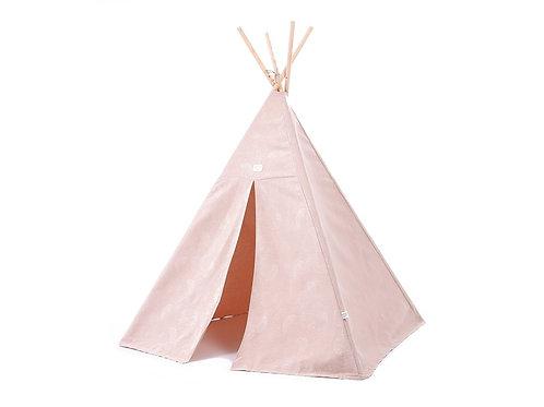 Tipi phoenix Whitte bubble misty pink 149x100 Nobodinoz