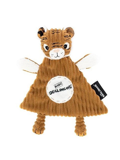 Doudou baby Tigre Les Déglingos