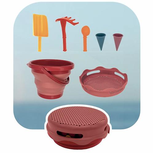 Set jouets de sable 7 en 1 Compactoys