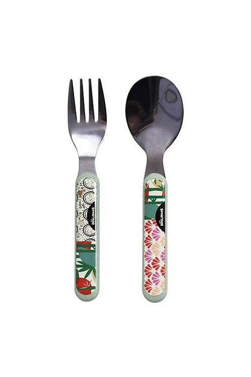 Lot fourchette & cuillère Les déglingos
