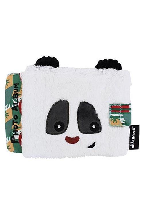 Album photo velours Panda Les Déglingos