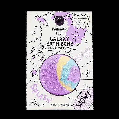Boule de bain effervescente violette Nailmatic
