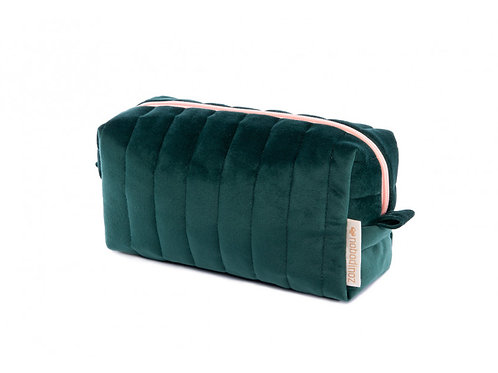 Trousse de toilette Velvet Jungle green Nobodinoz
