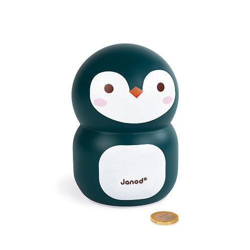 Tirelire pingouin Janod