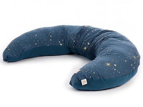 Coussin de maternité Luna Gold stella night blue Nobodinoz