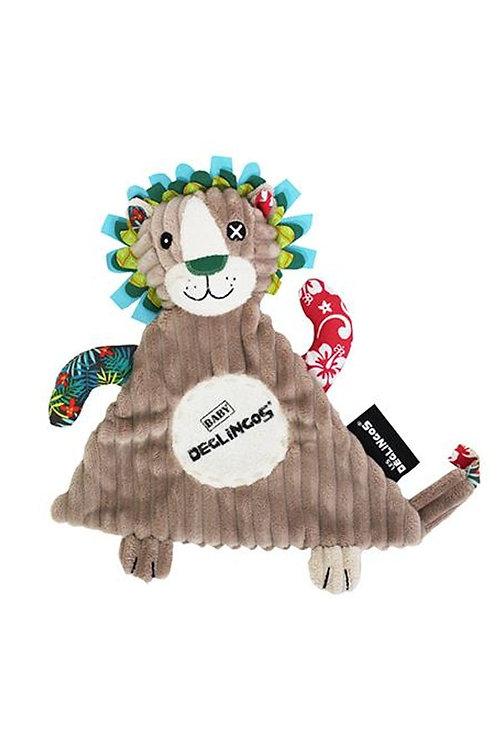 Doudou baby Lion Les Déglingos