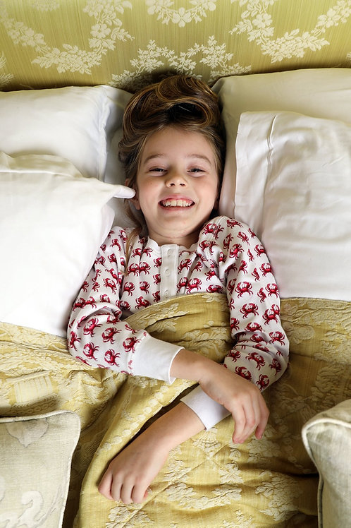 Pyjama enfant Dodi Crabe Grenadine Brai