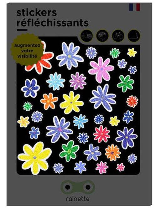 Stickers réfléchissants Fleurs Rainette