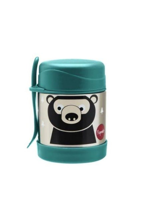 Boite alimentaire isotherme fourchette Ours 3 Sprouts