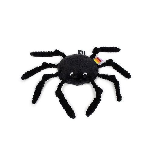 Peluche Ptipotos l'araignée noire Les déglingos