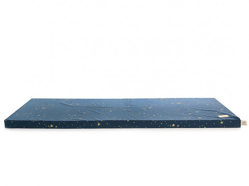 Matelas de sol St Barth Gold Stella night blue Nobodinoz