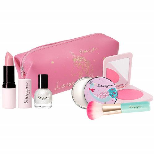 Panoplie de maquillage rose Rosajou