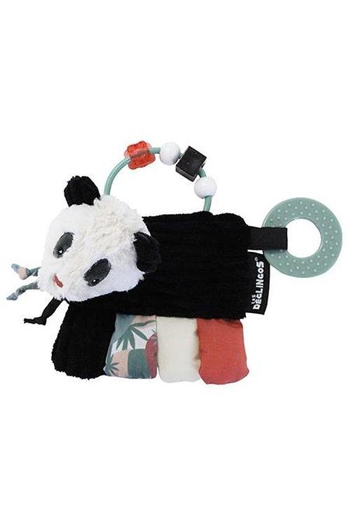 Hochet d'activités Panda Les Déglingos