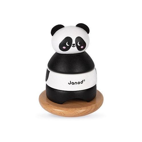 Culbuto Panda (bois) Janod