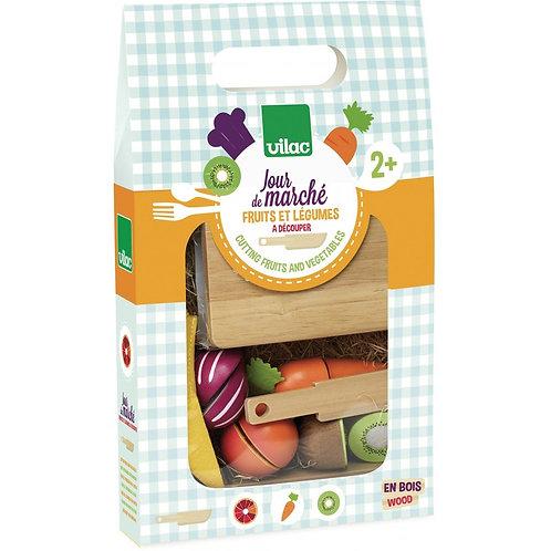 Jour de marché Légumes Vilac