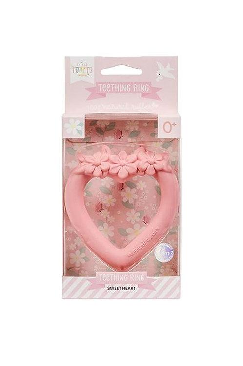 Anneau de dentition coeur A little lovely company