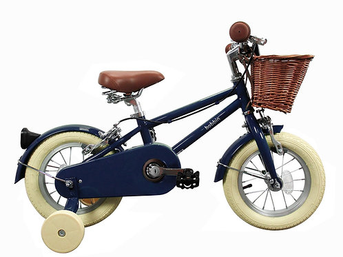Vélo Bleu marine 12 pouces Bobbin