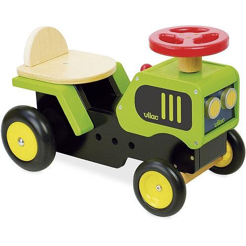 Porteur tracteur en bois Vilac
