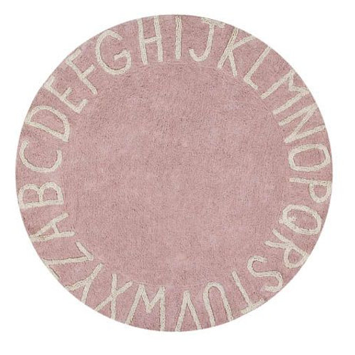 Tapis round ABC nude natural Lorena canals