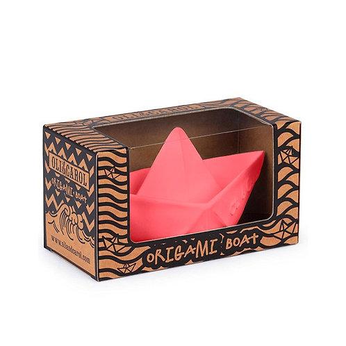 Bateau origami pink Oli & Carol