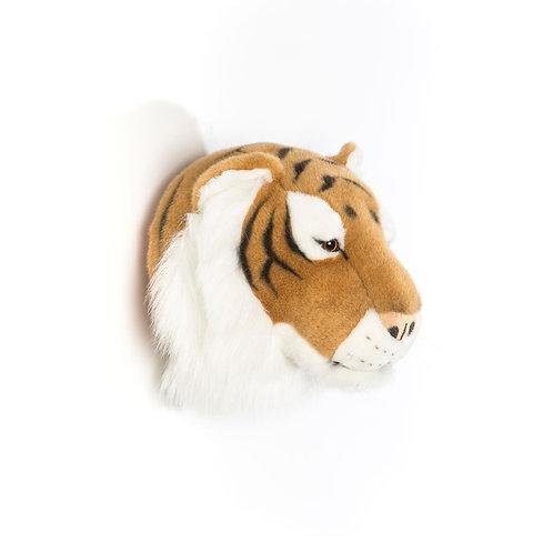 Tête Tigre Brun Wild and Soft