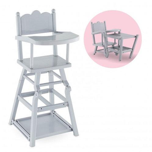 Chaise haute pour poupon 36/42 cm Corolle