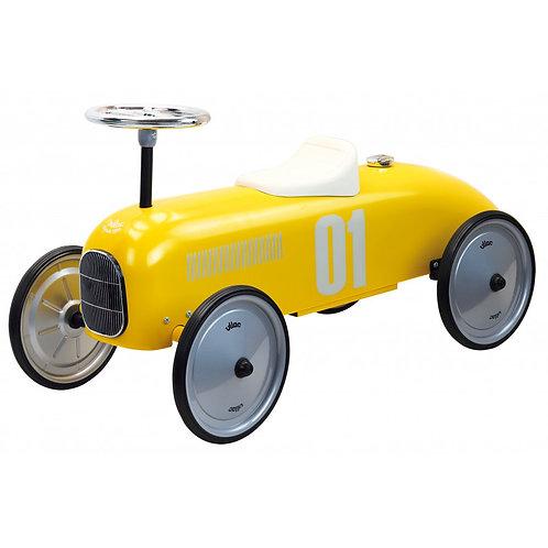 Porteur voiture jaune Vilac