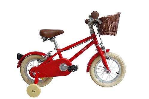 Vélo Rouge 12 pouces Bobbin