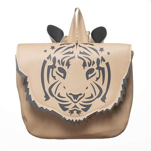 Cartable maternelle Tigre beige Crapaud chou