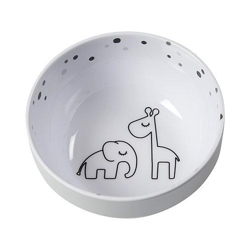 Mini bol dreamy dots grey Done by deer