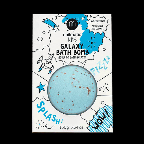 Boule de bain effervescente Bleu Nailmatic