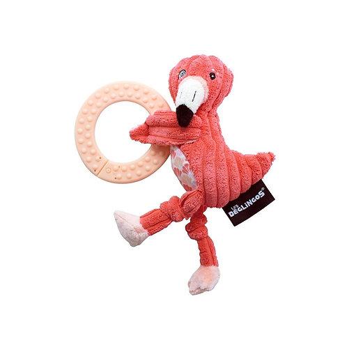 Anneau de dentition Flamingos le flamant Les déglingos