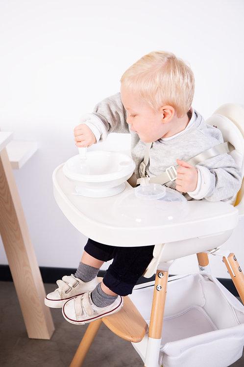 Tablette de chaise Evolu 2 Childhome