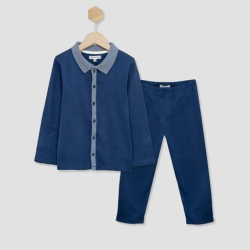Pyjama Arsene Bleu Mercredicepermis