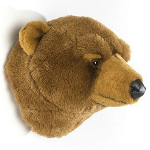 Tête Ours brun Wild and Soft