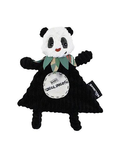 Doudou baby Panda Les Déglingos