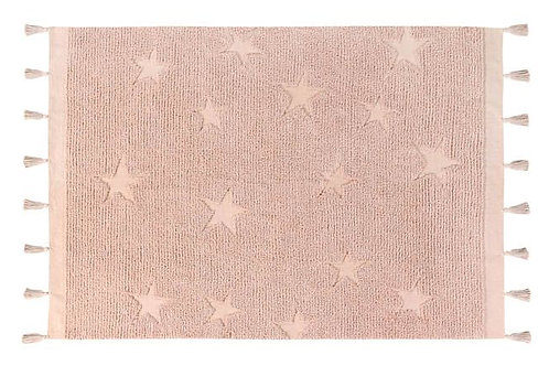 Tapis hippy stars vintage nude Lorena canals