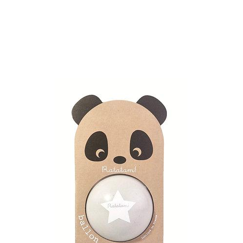 Ballon panda gris 12 cm Ratatam