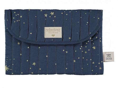 Pochette Bagatelle Gold stella night blue Nobodinoz