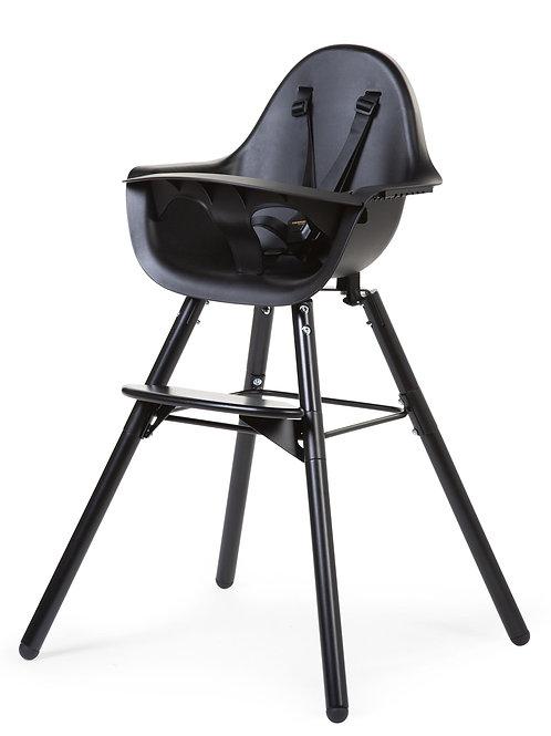Chaise haute evolu 2 noire Childhome