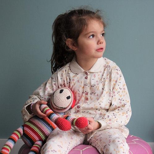Pyjama Apoline Ecru Mercredicepermis