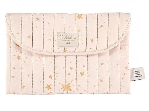 Pochette Bagatelle Gold stella dream pink Nobodinoz