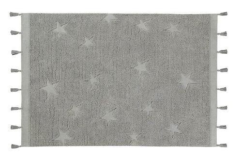 Tapis hippy stars grey Lorena canals