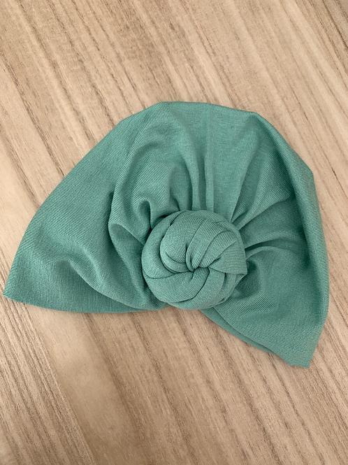 Bonnet turban à noeud Eucalyptus MademoiselleBeuZ