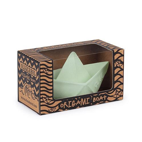 Bateau origami mint Oli & Carol