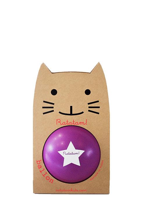 Ballon violet 15cm Ratatam
