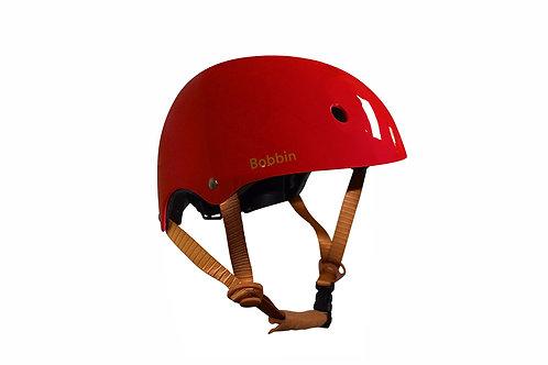 Casque rouge Bobbin