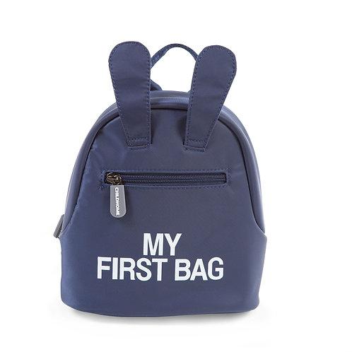 My first bag Bleu Marine Childhome