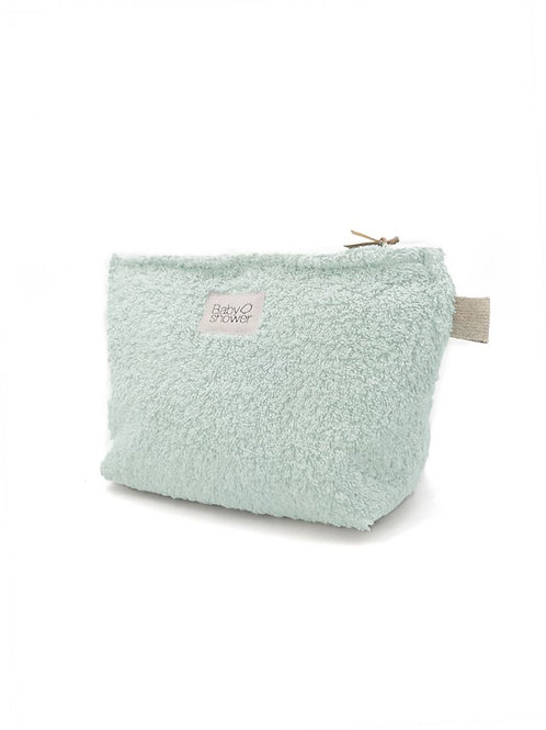 Pochette super éponge Mint Baby Shower
