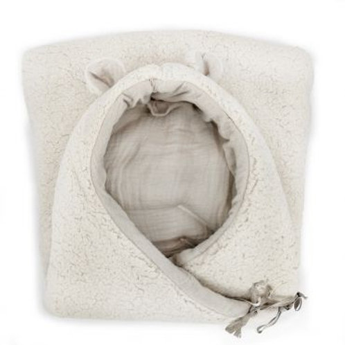 Nid d'ange hiver Teddy mouton Baby shower